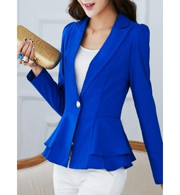 Blazer Fashion Blue