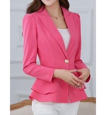 Blazer Fashion Rosa