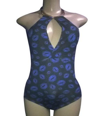 Body Estampada Azul